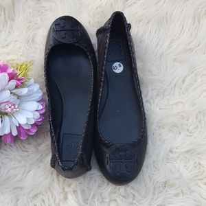 Tory Burch Mocassin black shoes